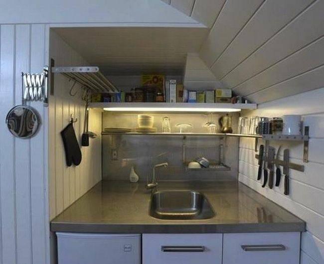 5 stiluri de bucatarii in mansarda