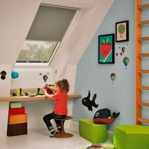 Amenajare camera copiilor la mansarda