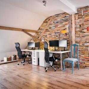 Amenajarea mansardei ca spatiu de lucru - birou