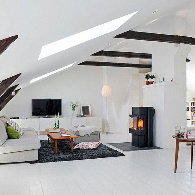 Idei de amenajare pentru mansard mansarda casei ro for Case moderne arredate