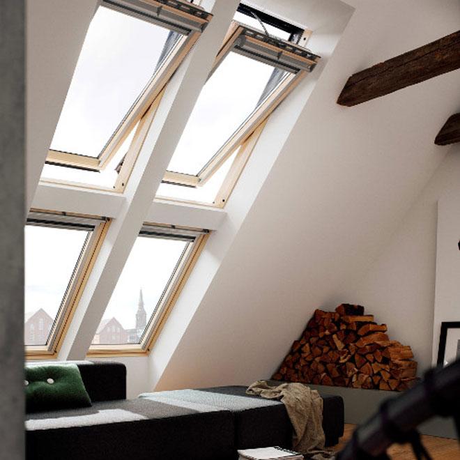 fereastr de mansard premium velux ggl integra mansarda casei ro. Black Bedroom Furniture Sets. Home Design Ideas