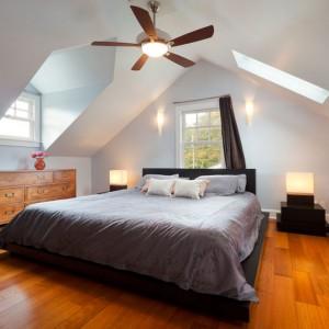 Dormitor in mansarda
