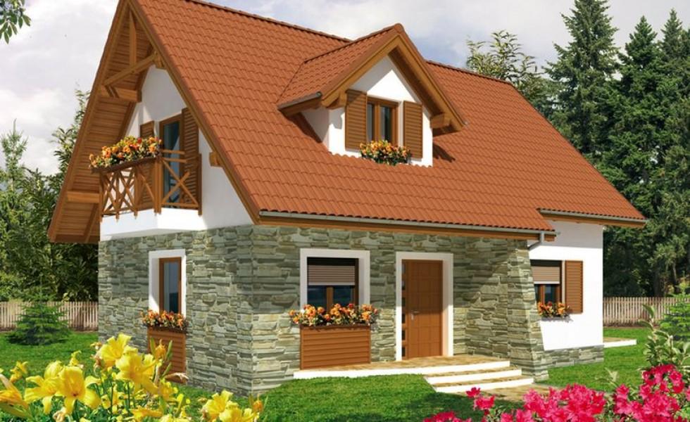 3 proiecte de cas cu mansard sub 100 mp mansarda casei ro for Proiect casa 100 mp fara etaj